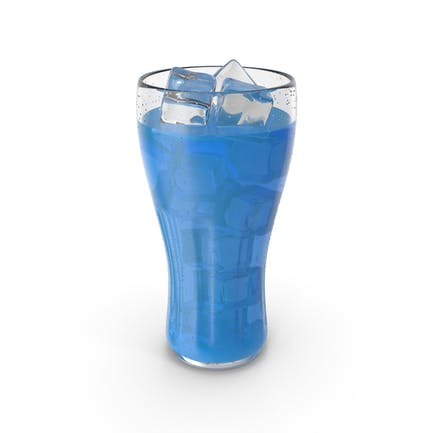 Glass Juice Blue