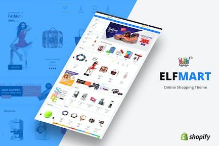 Elfmart - Tema Multifunción Shopify