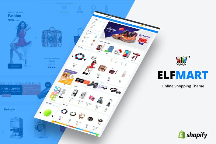 Thumbnail for Elfmart - Multipurpose Shopify Theme