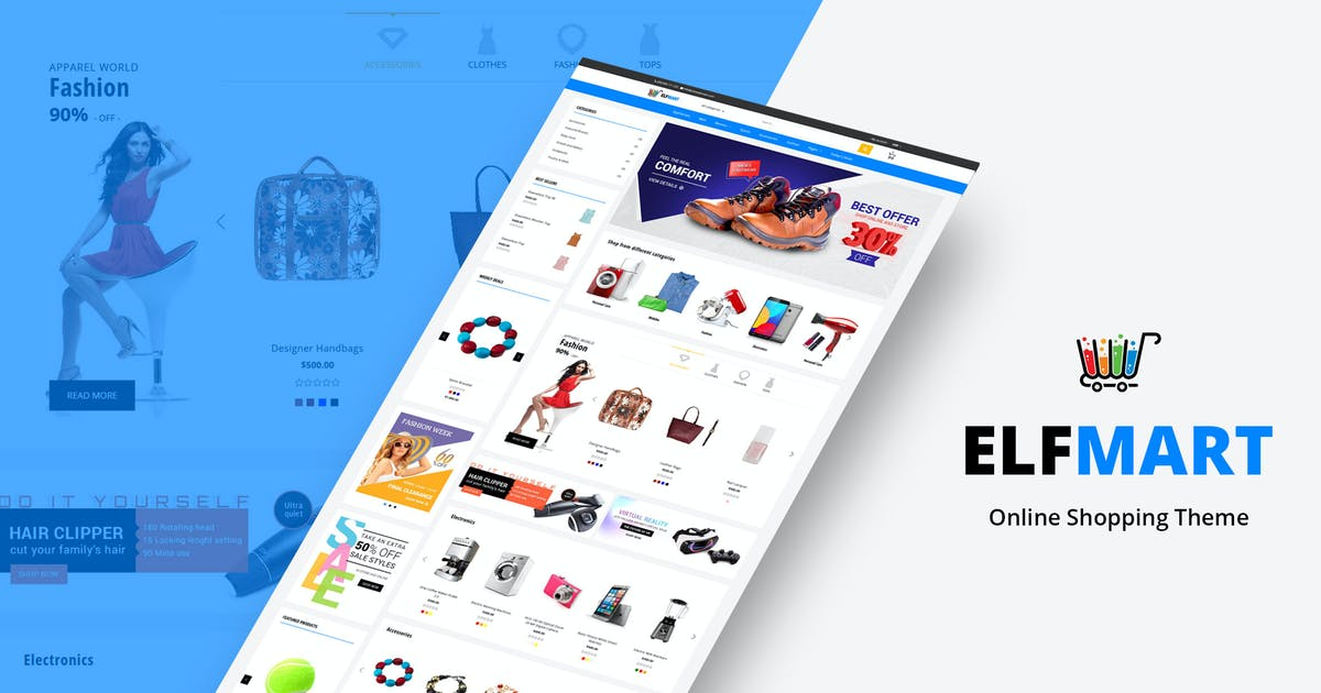 Download Elfmart - Multipurpose Shopify Theme by BuddhaThemes