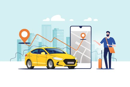 Online Ordering Taxi