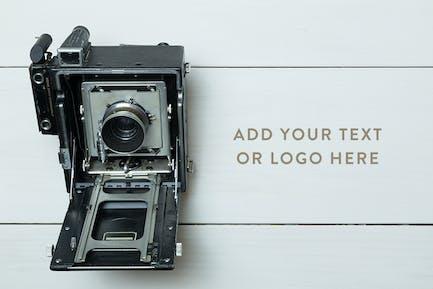 Vintage Camera Photo Mockup Bundle