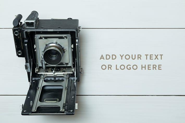 Thumbnail for Vintage Camera Photo Mockup Bundle