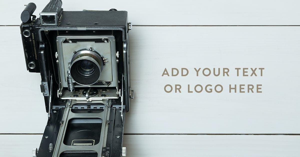 Download Vintage Camera Photo Mockup Bundle by adrianpelletier
