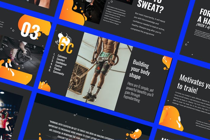 Cover Image For WORKOUT - Presentation Powerpoint Business Company