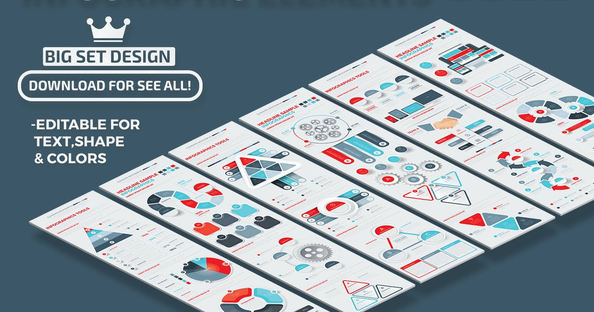 Download Infographics Set by mamanamsai
