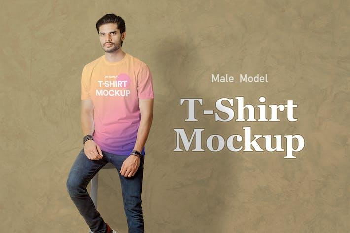 Thumbnail for T-Shirt Mockup 06