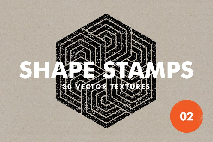 Thumbnail for Vector Shape Stamps 02