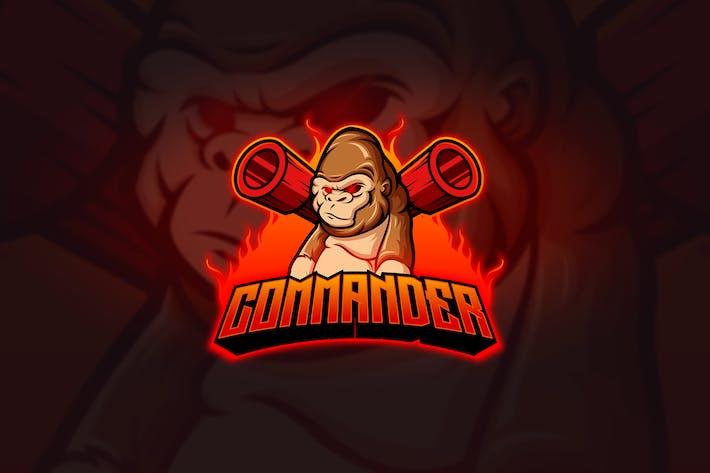 Cover Image For Kong - Mascot & Esport Logo