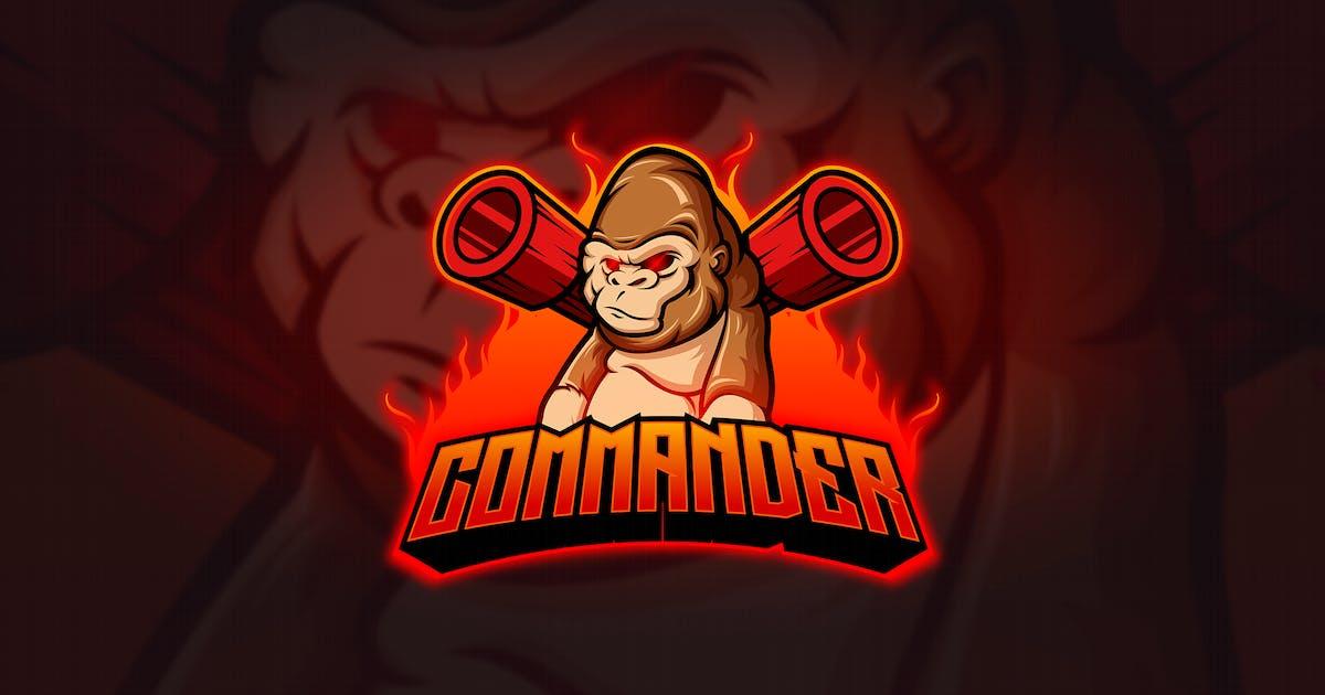Download Kong - Mascot & Esport Logo by aqrstudio