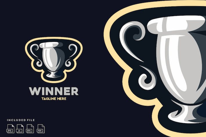 Thumbnail for Winner Champs - Logo design vector
