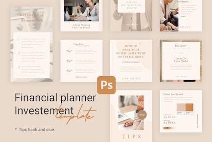 Consejos y Tutorial Plantillas de Instagram para Finanzas v1