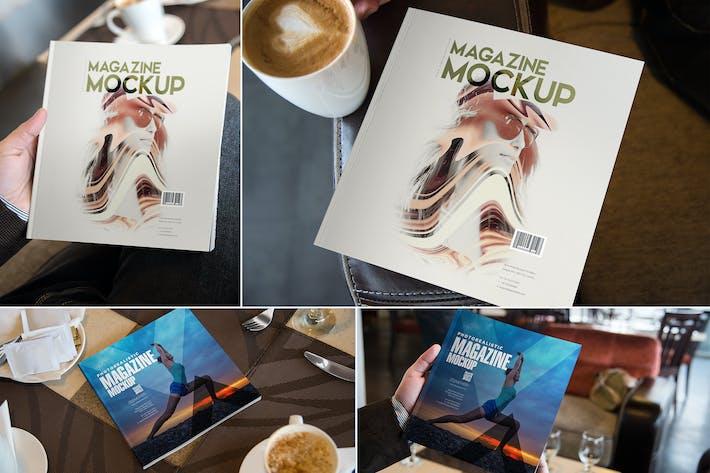 Thumbnail for Square Magazine Mockups