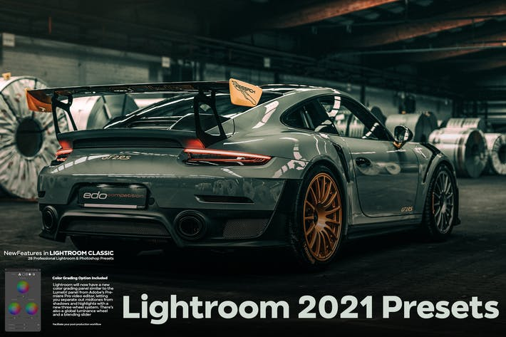 Thumbnail for Lightroom 2021 New Features Presets