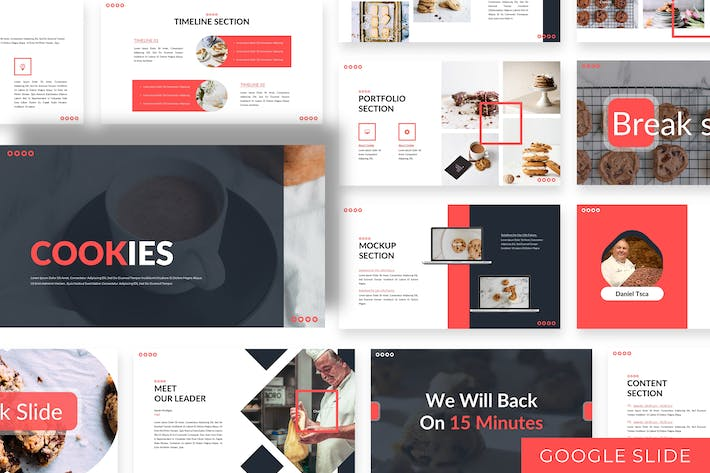 Thumbnail for Cookies  - Business Google Slide Template