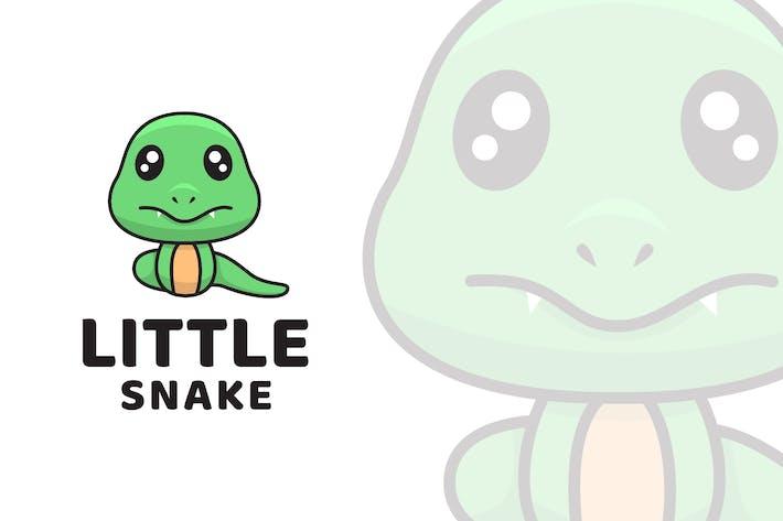 Thumbnail for Little Snake Cute Logo Template