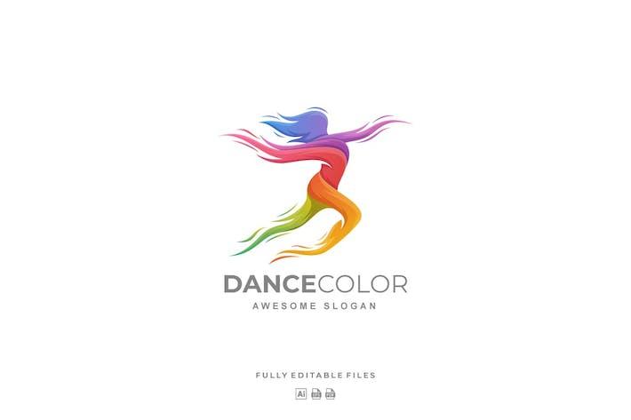 Thumbnail for Dance Color Gradient Logo