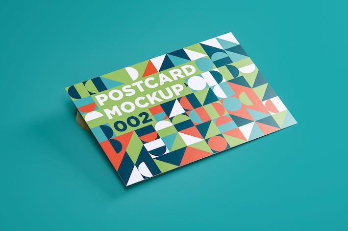 Thumbnail for Postcard Mockup 002