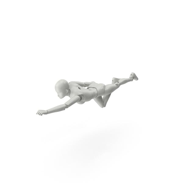 Cover Image for Posed Figure Flying