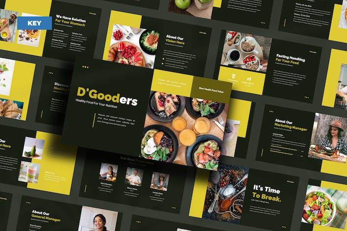 D'Gooders Healthy Food - Keynote UP