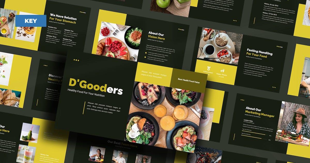 Download D'Gooders Healthy Food - Keynote UP by Rometheme