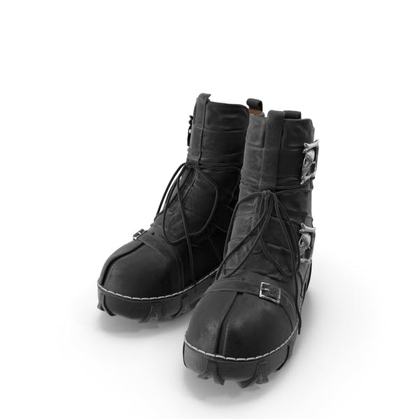 Thumbnail for Boots Gothic Black