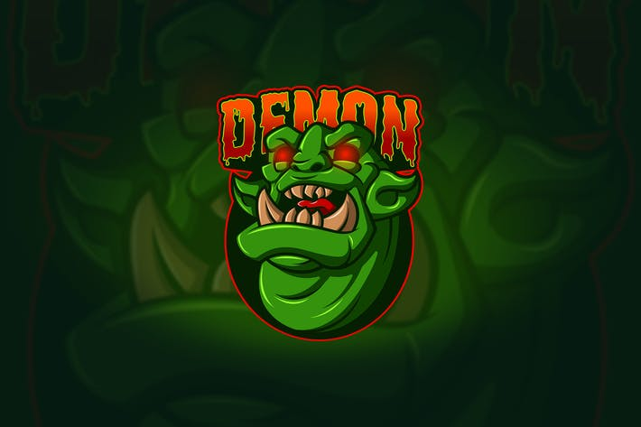 Thumbnail for Demon - Mascot & Esport Logo