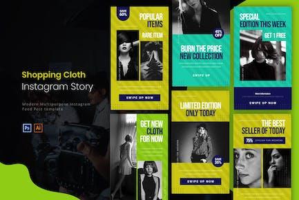 Shopping Cloth | Instagram Story