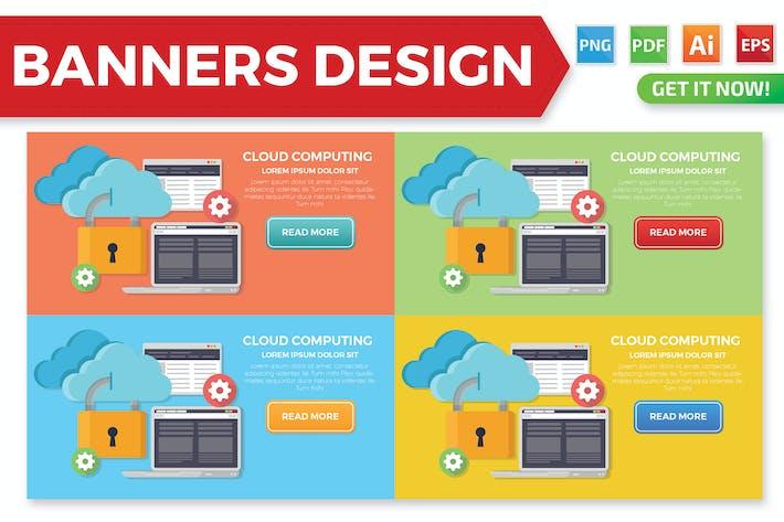 Thumbnail for Дизайн баннеров облачных вычислений