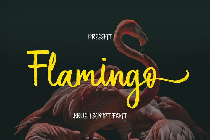 Скрипт кисти фламинго