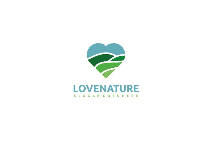 Cover Image For Nature Love Logo