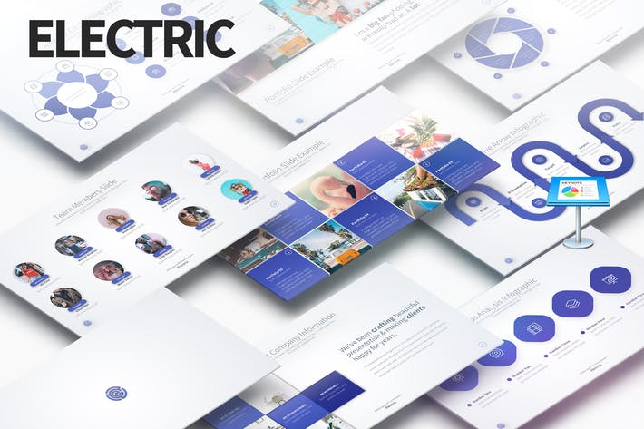 Thumbnail for ELECTRIC - Multipurpose Keynote Presentation