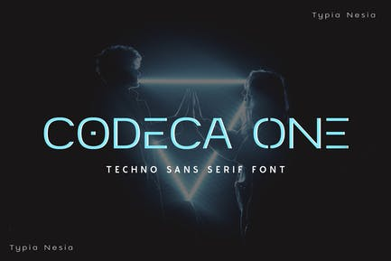 Codeca One - Techno Sans