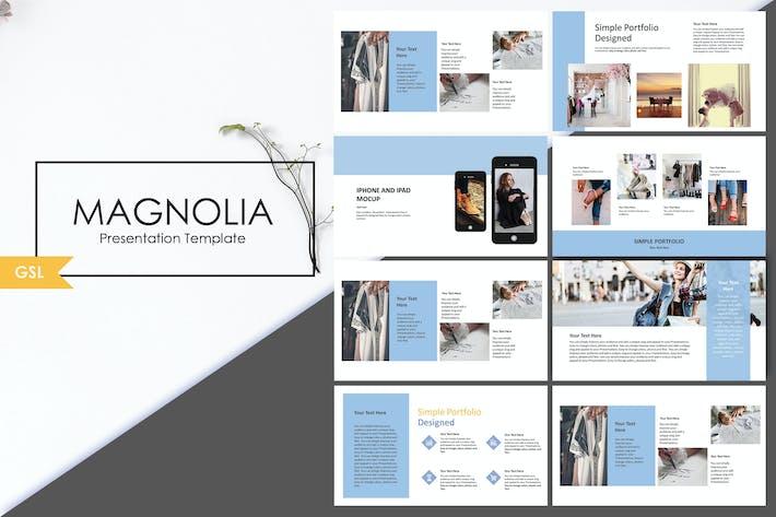 Thumbnail for Magnolia | Google Slide