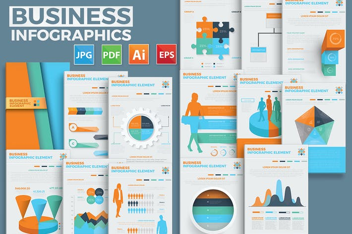 Thumbnail for 17 Elements Of Infographics Design
