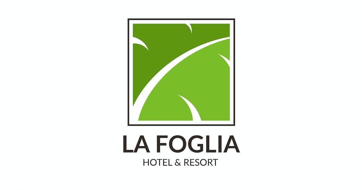 Download La Foglia - Hotel & Resort Logo Template RB by Rometheme