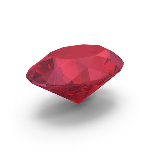 Thumbnail for Diamond Oval Cut Ruby