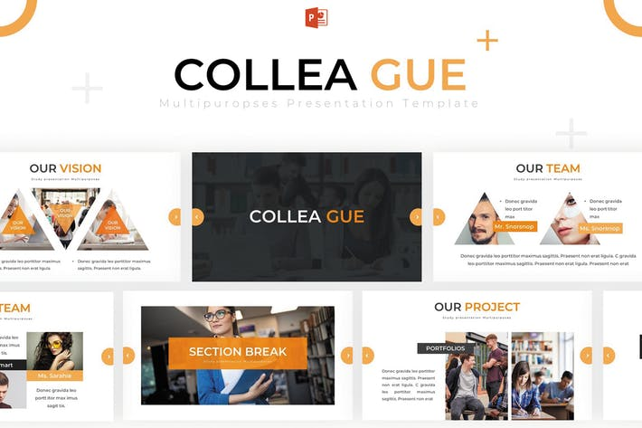 Thumbnail for Colleague - Powerpoint Template