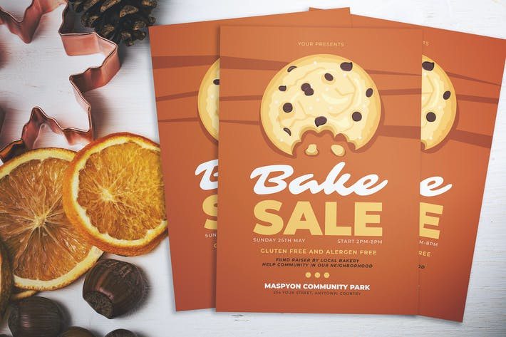 Thumbnail for Bake Sale Day Flyer