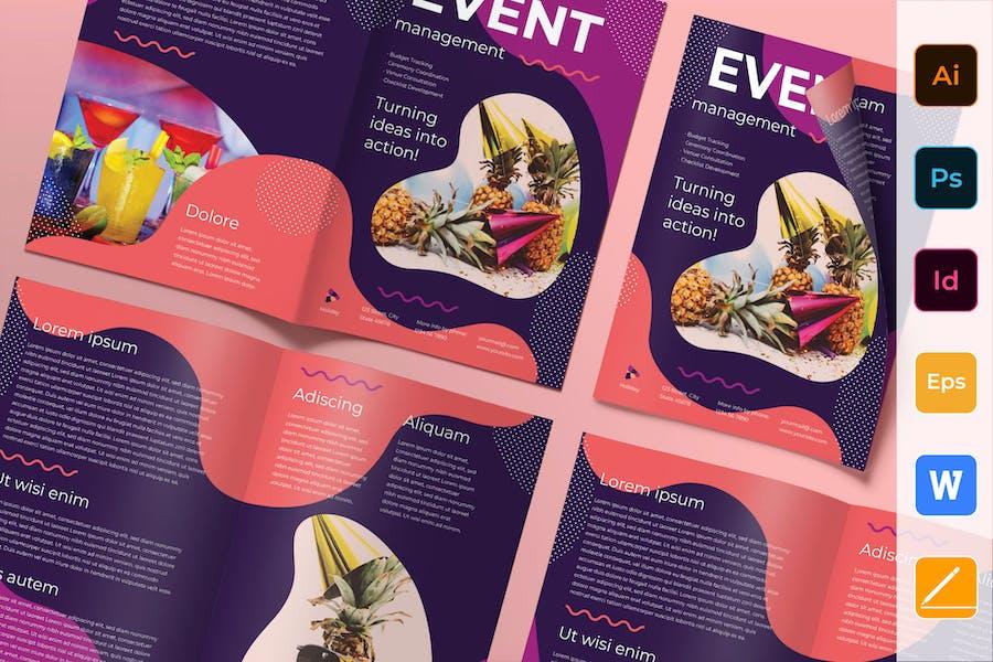 Event Management Brochure Bifold