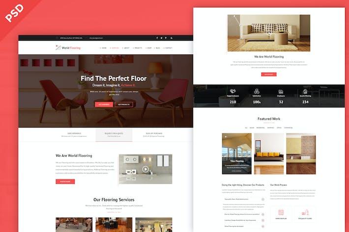 Thumbnail for World Flooring - Flooring, Tiling & Paving Service
