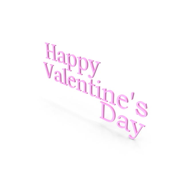Thumbnail for Happy Valentine's day Symbol Pink