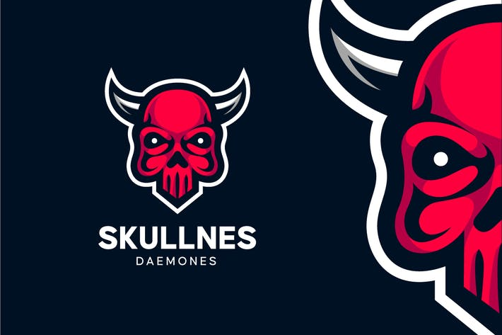 Thumbnail for Demon Skull Logo
