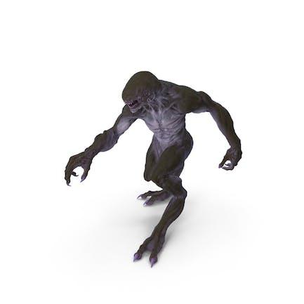 Monstruo Bestia Caminando