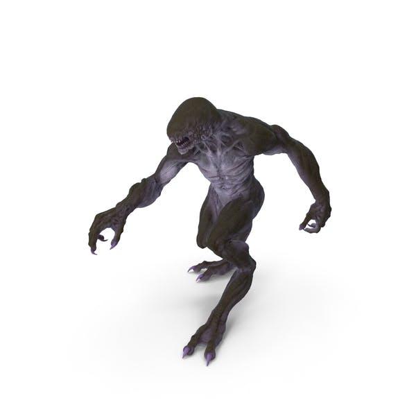 Monster Beast Walking Pose