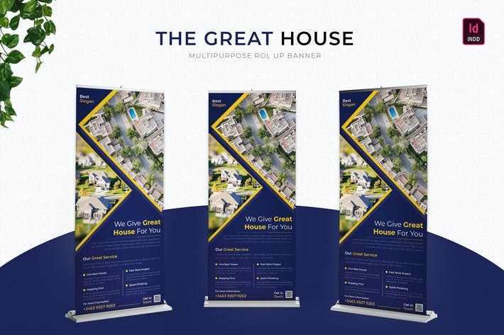 Thumbnail for Great House | Roll Up Banner