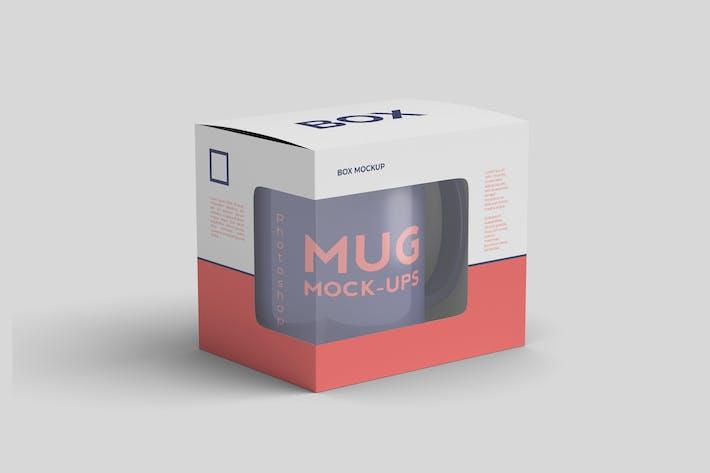 Thumbnail for Mug inside The Box Mockup