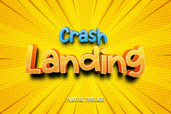 Thumbnail for Crash Landing - Fuente juguetona