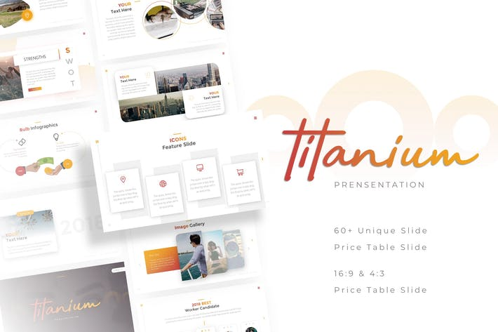 Thumbnail for Titanium - Professional Powerpoint Template