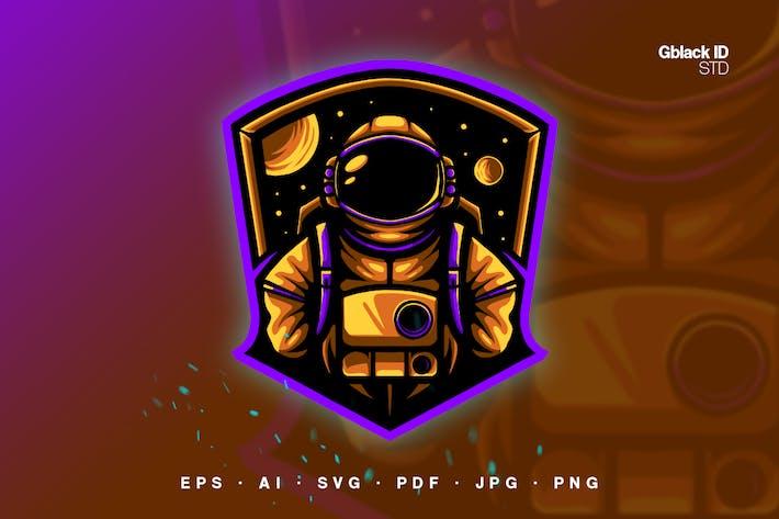 Astronauten im Weltall